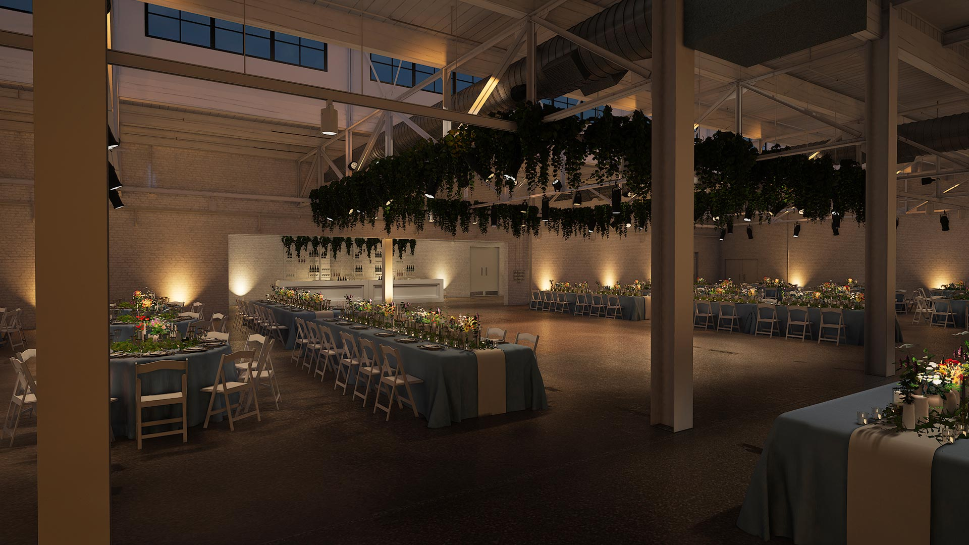 corner head table view evening The Madison - Cleveland's Event Reception Venue for Parties