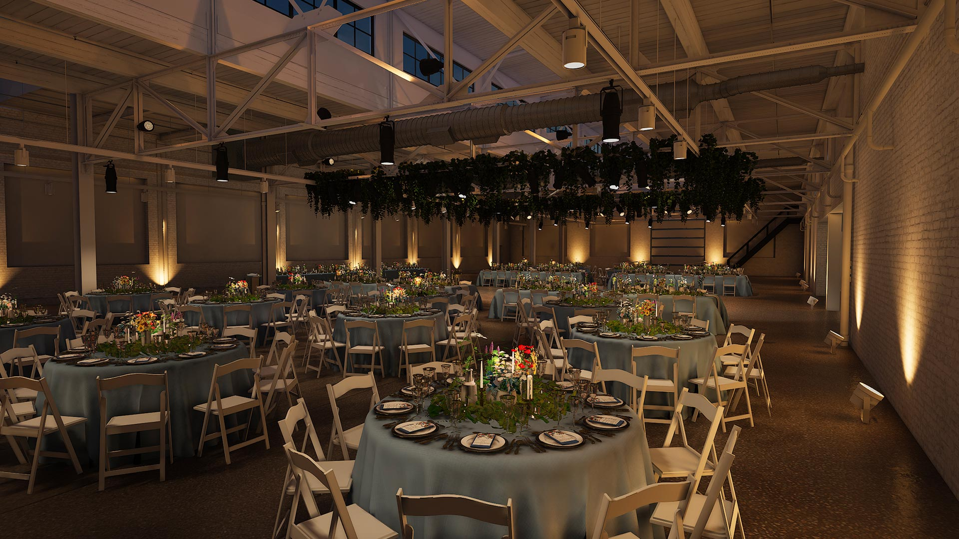 dinner corner front evening The Madison - Cleveland's Event Reception Venue for Parties
