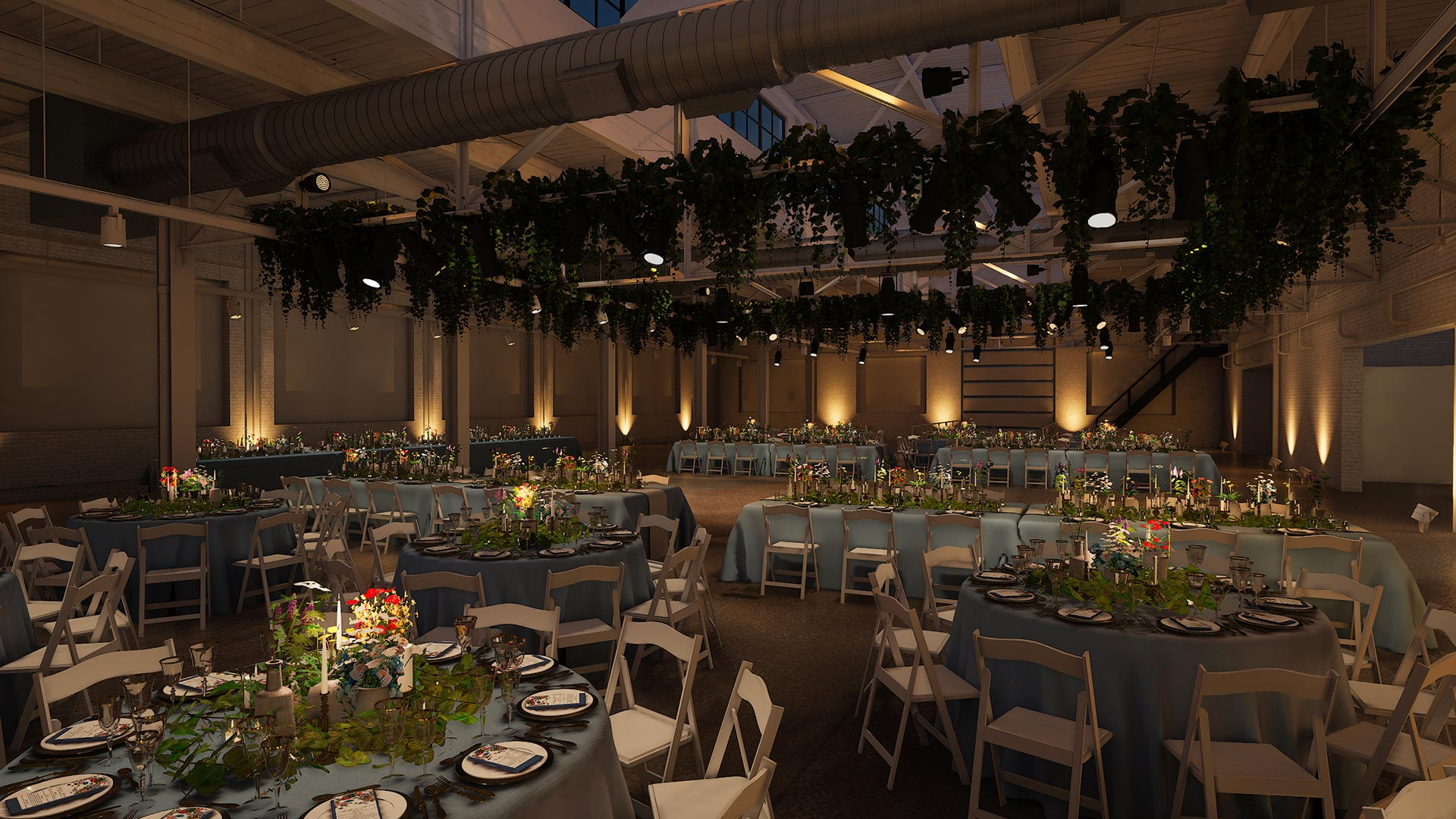middle corner evening The Madison - Cleveland's Event Reception Venue for Parties